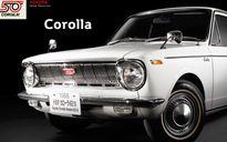 Nhìn ngắm Toyota Corolla trưởng thành qua 11 thế hệ