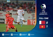 Những khoảnh khắc 'đốn tim' của U.19 Việt Nam ở trận thắng U.19 Bahrain
