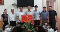 LĐLĐ Hà Tĩnh phối hợp cứu trợ hơn 1 tỉ đồng cho người dân vùng lũ