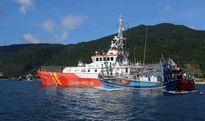 Tàu cá trôi trên biển do hỏng máy, 10 thuyền viên chờ ứng cứu