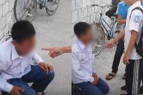 Sốc: Nam sinh lớp 7 bị đánh hội đồng, tiểu tiện vào đầu