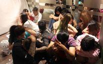 Gần 100 nam nữ phê ma túy, hút cỏ Mỹ trong khách sạn ở trung tâm Sài Gòn