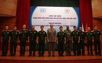 Nữ quân nhân Việt Nam có thể tham gia lực lượng gìn giữ hòa bình Liên Hợp Quốc