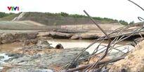 Quảng Trị: Đập Nam Thạch Hãn bị xói lở hơn 65m