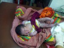 Xót thương bé gái sơ sinh bị bỏ rơi trong vườn cao su