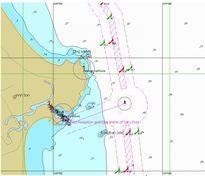 Thiết lập hệ thống phân luồng hàng hải tại vùng biển Quảng Ngãi