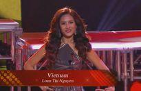 Nguyễn Thị Loan vào Top 20 'Hoa hậu Hòa bình Thế giới'