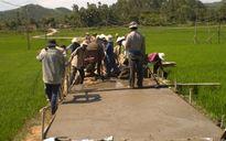 Quảng Ngãi: Ứng 40 tỷ đồng hỗ trợ huyện Nghĩa Hành xây dựng NTM