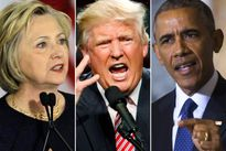 Ông Trump đề nghị điều tra Tổng thống Obama về vụ thư điện tử của bà Clinton