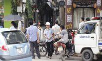 Ảnh hiện trường nổ súng trong đêm làm một người chết ở Hà Nội