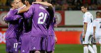 Real thắng vùi dập đối thủ vô danh Leonesa tại cúp Nhà vua
