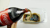 Iphone 7 sẽ ra sao khi ngâm trong Coca-Cola đóng băng suốt 12 giờ