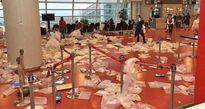 Du khách Trung Quốc đổ bộ và biến sân bay Jeju thành... bãi rác chỉ chưa đầy một nốt nhạc