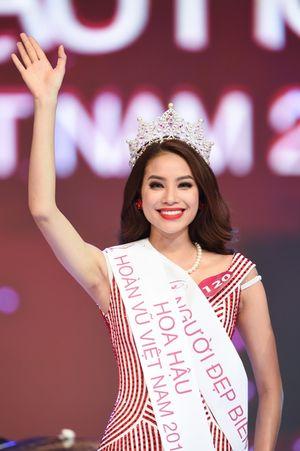 HH Hoàn vũ Việt Nam 2015: Phạm Hương đăng quang từ buổi tổng duyệt
