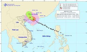 Bão số 4 đã đổ bộ Trung Quốc, miền Bắc mưa lớn