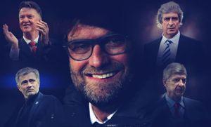 THỐNG KÊ: Thành tích Klopp so với các HLV nổi tiếng của Premier League