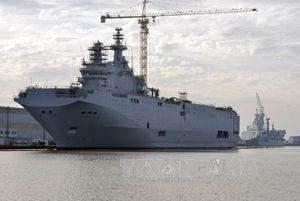 Ai Cập chính thức ký hợp đồng mua tàu Mistral của Pháp