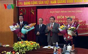 Trao quyết định bổ nhiệm 2 Phó Trưởng Ban Nội chính Trung ương