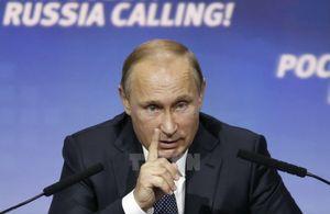 Ông Putin: Nga không tranh vai trò lãnh đạo trong vấn đề Syria