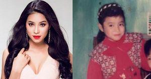 Lục ảnh thuở nhỏ của thí sinh Hoa hậu Hoàn vũ 2015