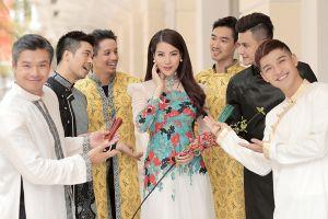 Sao Việt đua nhau khoe sắc trong tà áo dài đón Tết