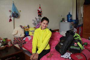 Nữ hoàng tốc độ mới Nguyễn Thị Oanh: Tết làm cô Tấm