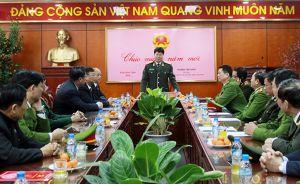 Lãnh đạo Bộ Công an thăm, kiểm tra công tác đảm bảo ANTT tại các đơn vị, địa phương