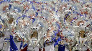 Bất chấp virus Zika, Brazil tổ chức carnival hoành tráng