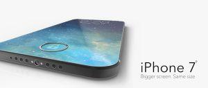 Chiêm ngưỡng iPhone 7 không viền, phím Home tích hợp ngay trong màn hình