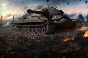 Sức mạnh vua tăng hạng nặng IS-7 của Liên Xô