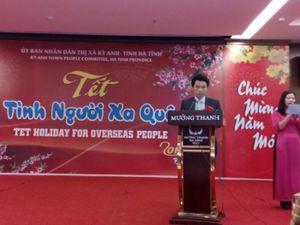 Hà Tĩnh: Ấm nồng chương trình 'Tết tình người xa quê 2016'