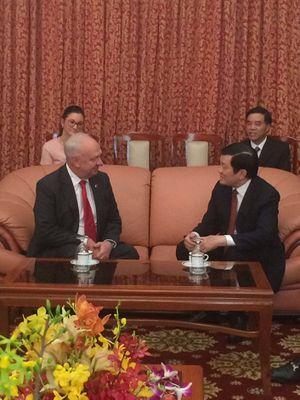 Tổng thống Nga Putin chúc mừng Chủ tịch Trương Tấn Sang nhân dịp Tết Nguyên Đán