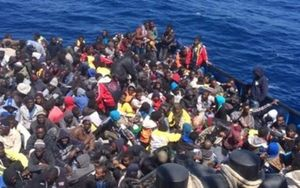 Hơn 76.000 người di cư đến châu Âu bằng đường biển đầu năm 2016