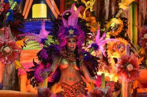Tưng bừng lễ hội hóa trang tại Brazil