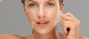 Lột da mặt có thể gây ung thư da