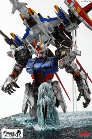 Lạ mắt với Figure Gundam theo phong cách mới lạ