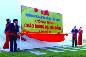 Cao tốc Hà Nội - Hải Phòng động lực cho phát triển
