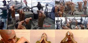 Iran bất ngờ công bố ảnh thủy thủ Mỹ bị bắt giữ đang khóc ở Vịnh Persian
