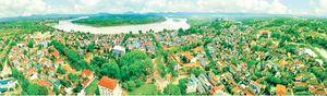Tầm nhìn từ thị xã đến thành phố trung du