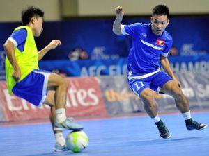 Futsal Việt Nam đấu Đài Loan, các đội V-League hội quân
