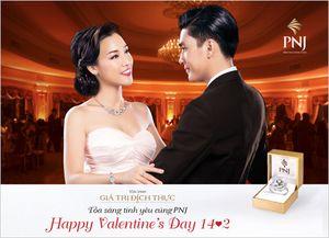 Ấn tượng trang sức tình yêu cho ngày Valentine.