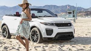 """Chị em phụ nữ """"phát cuồng"""" với Range Rover Evoque Convertible"""