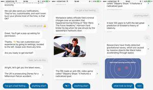 Quartz: Đọc báo theo phong cách chat, thú vị và miễn phí
