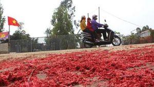 Vĩnh Phúc: Xác pháo đầy đường, 6 trường hợp bị xử lý