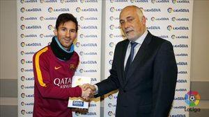 Bây giờ, Leo Messi mới được La Liga vinh danh