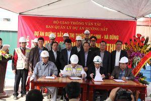 Sắp khai thác thử dự án đường sắt Cát Linh - Hà Đông