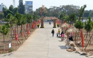 Gia Lai: Đầu năm tái hiện Hội Hát cầu huê trong lễ hội Tế xuân của người Việt vùng An Khê