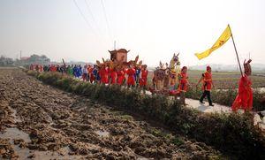 Hội làng Ném Thượng: Không còn cảnh chém lợn ở sân đình