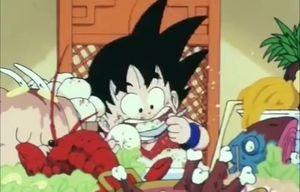 Tất tần tật cảnh Son Goku ăn uống suốt 20 năm chỉ trong 5 phút