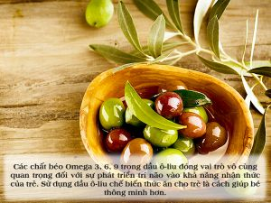 5 lý do mẹ nên bổ sung dầu ô-liu trong các bữa ăn của bé
